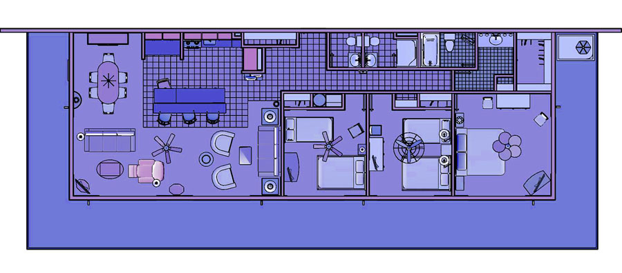 Sea Watch Floor Plans
